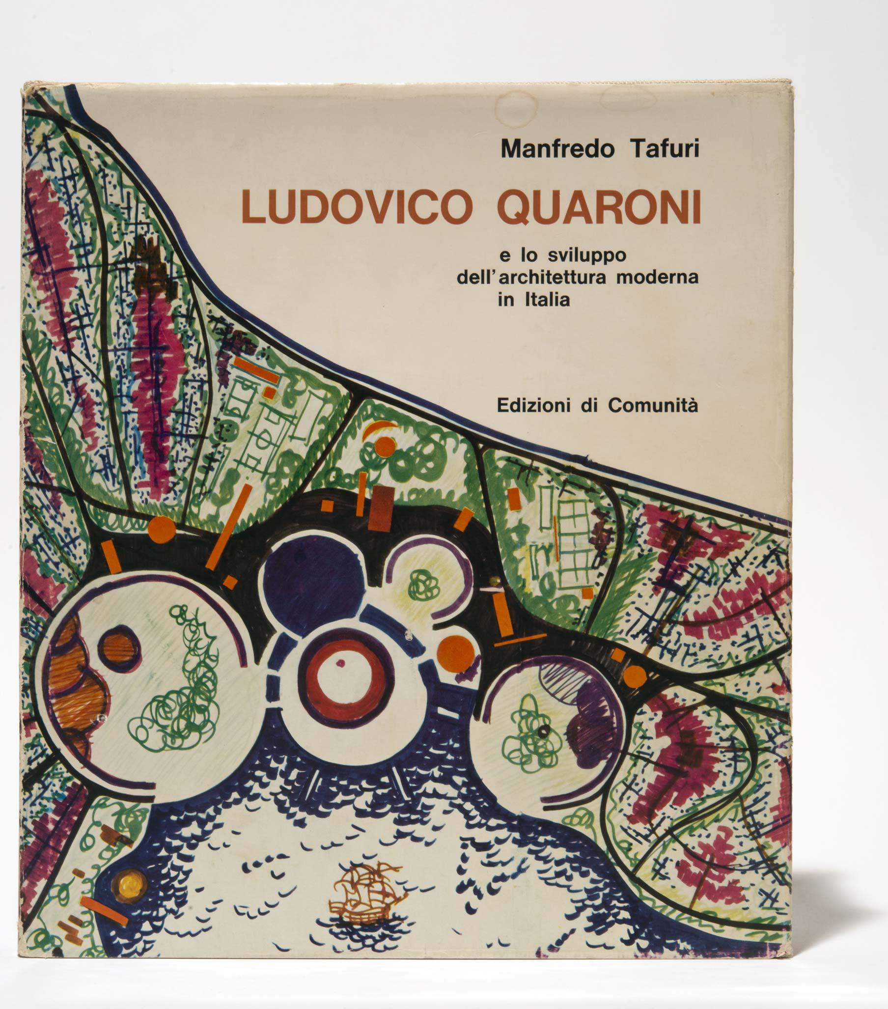 Copertina Manfredo Tafuri Ludovico Quaroni