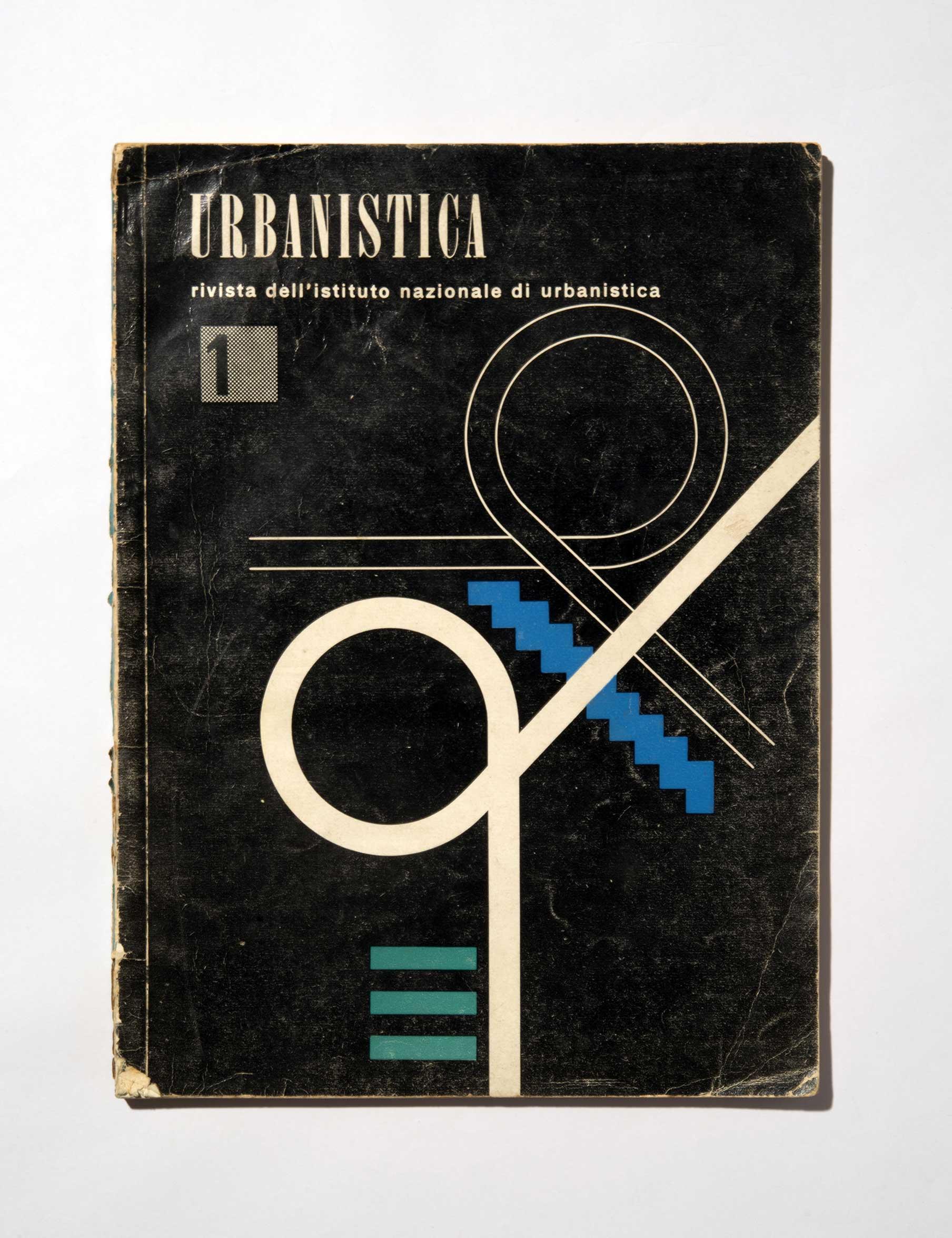 Copertina Urbanistica, numero1 1949