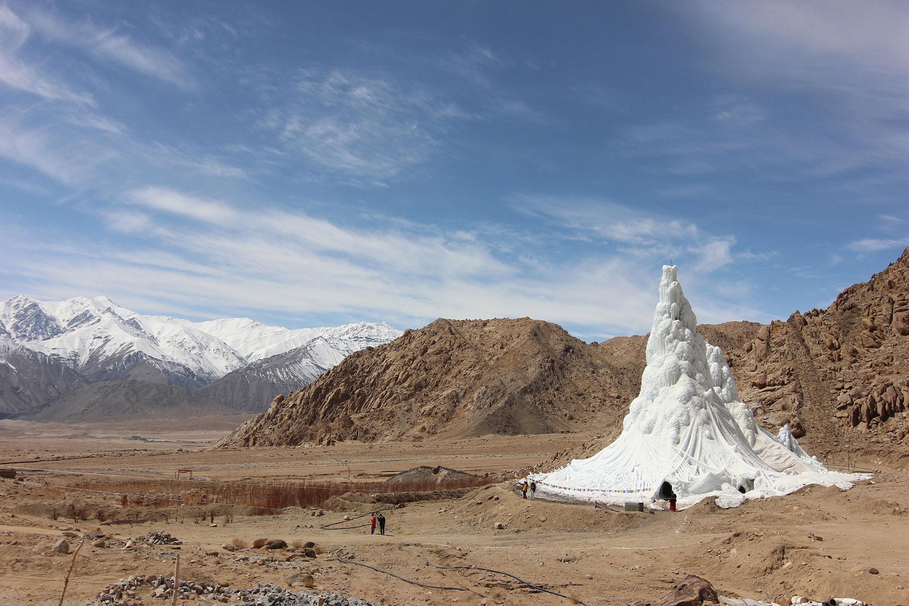 Ice Stupa Sonam Wangchuk, Sonam Dorje e Simant Verm