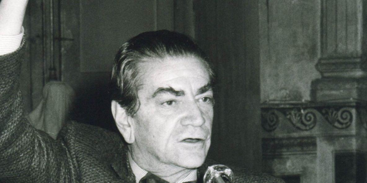Bruno Zevi in pubblico