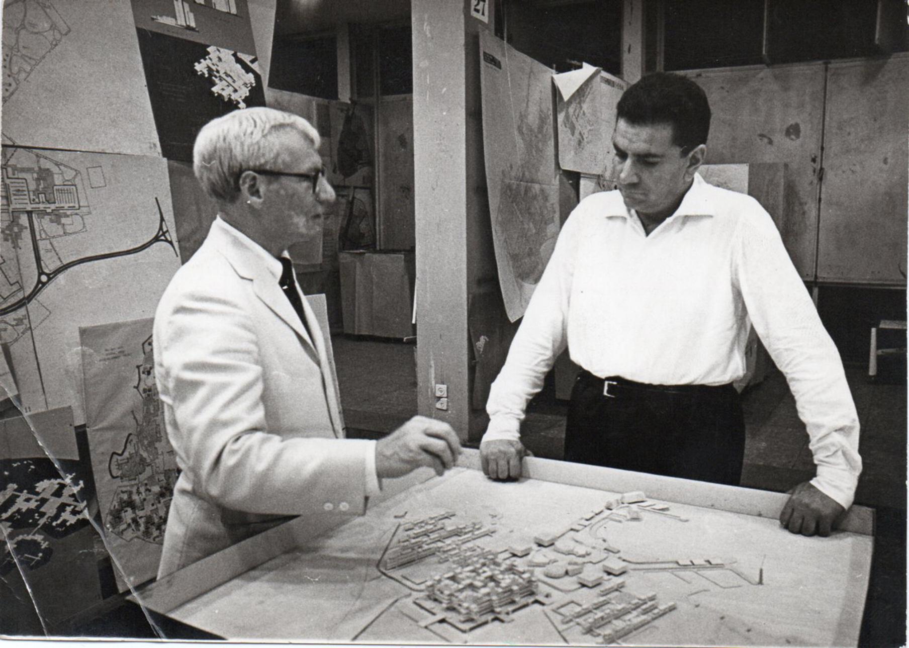 Bruno Zevi e Louis Kahn