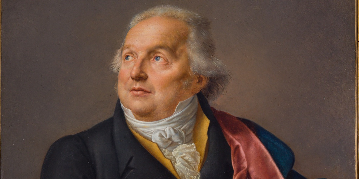 Ritratto Giuseppe Valadier Jean-Baptiste Wicar