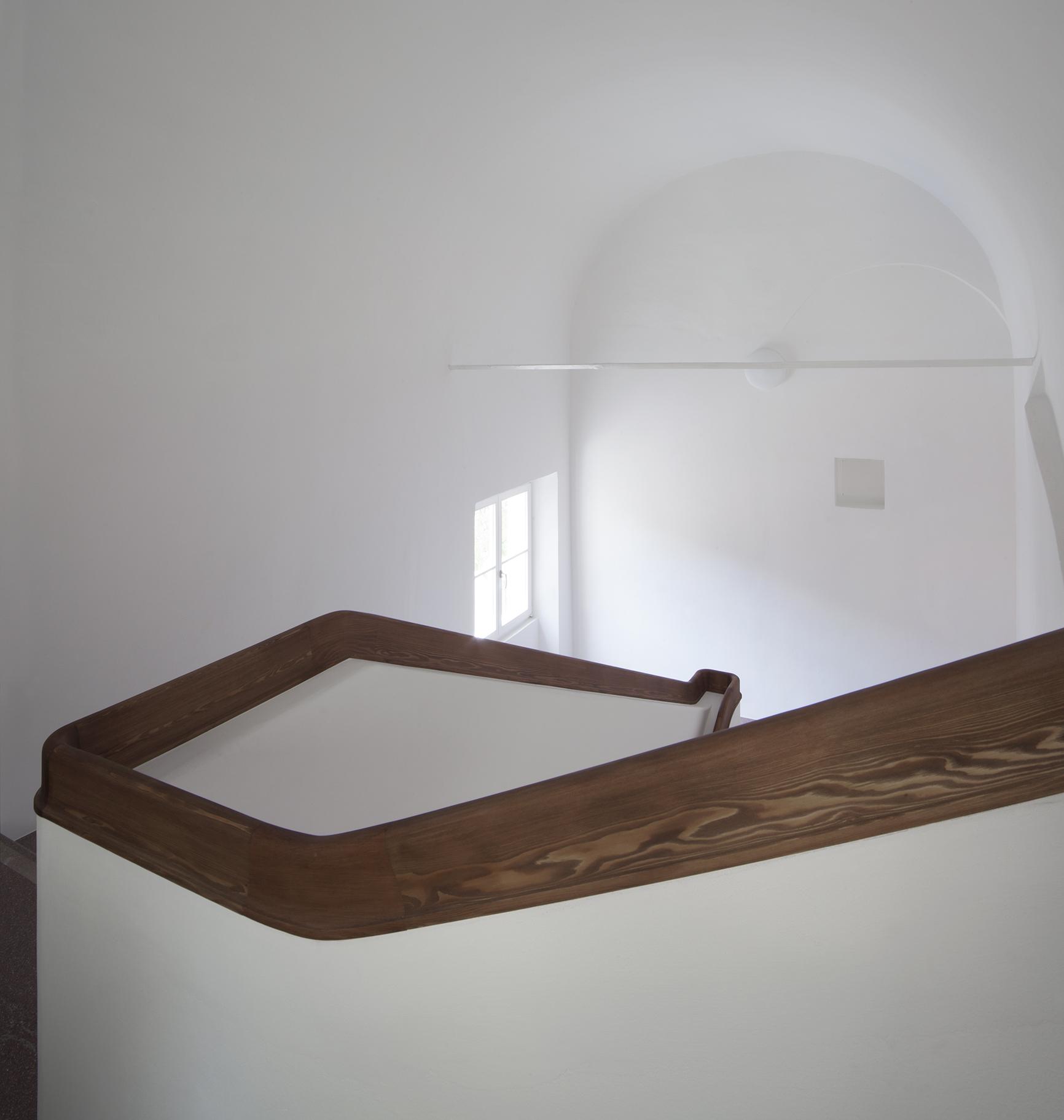 Corrimano scala ex Tribunale di Bressanone