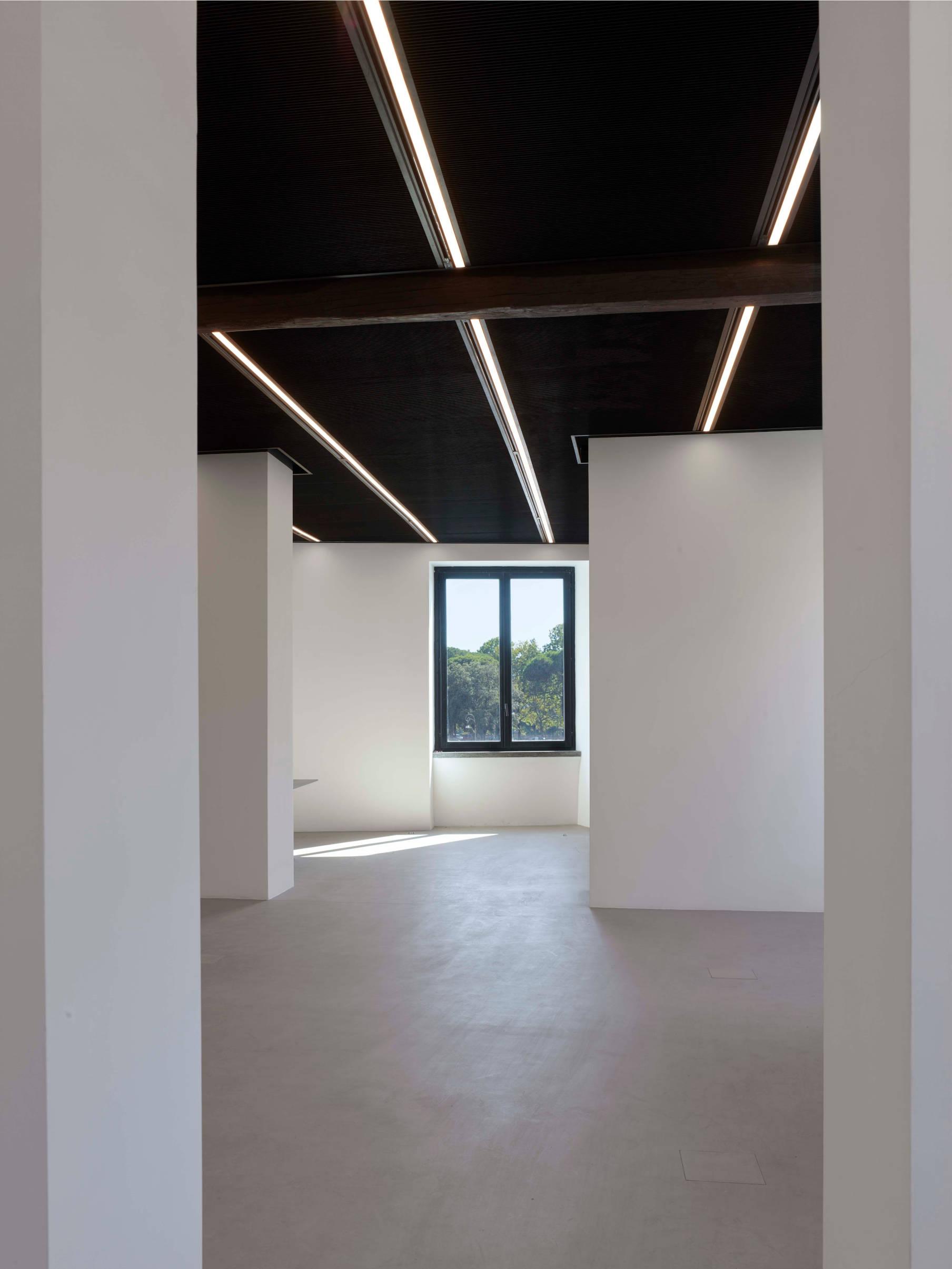 Galleria primo piano Fondazione Alda Fendi