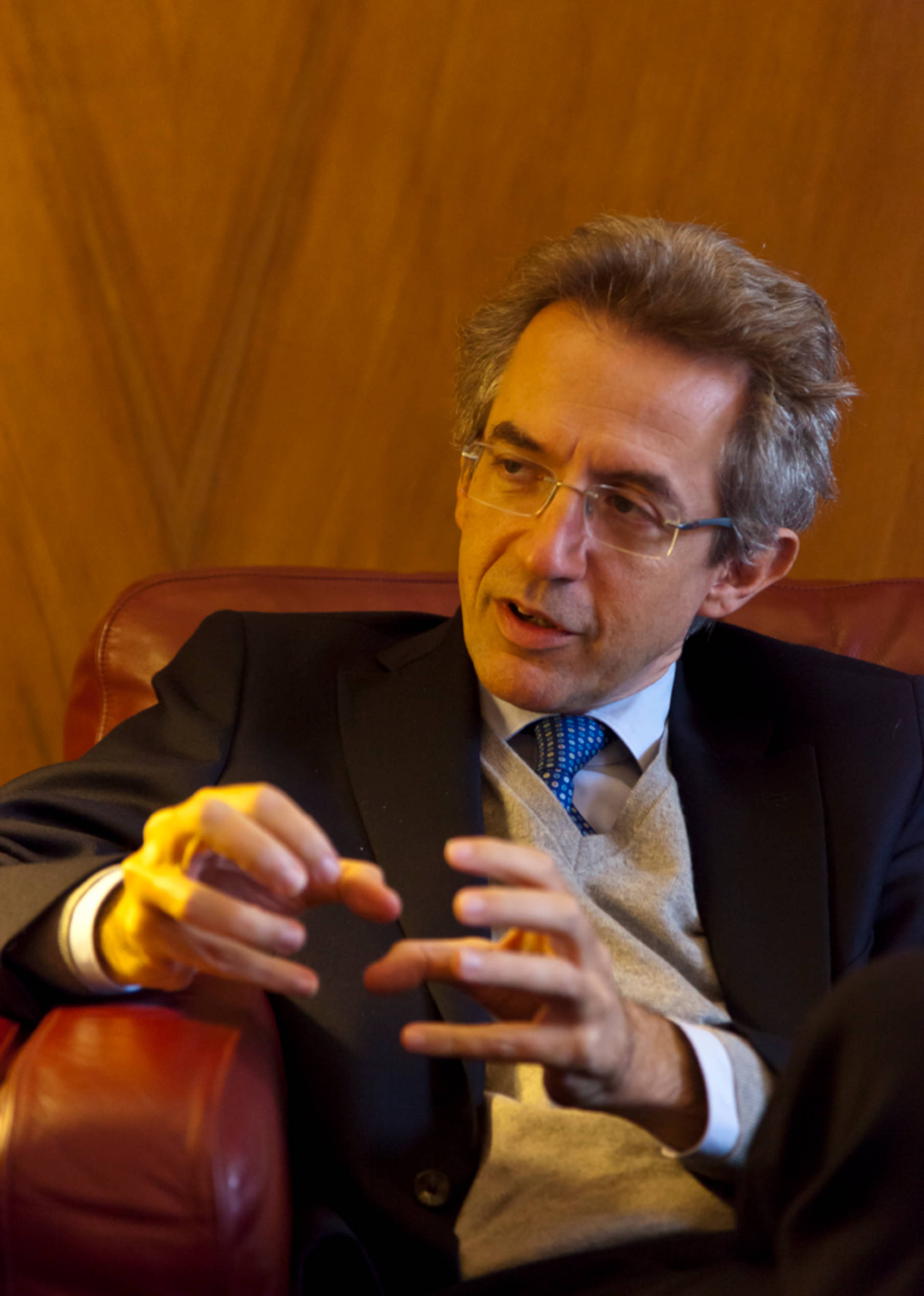 Gaetano Manfredi e Nicola Di Battista