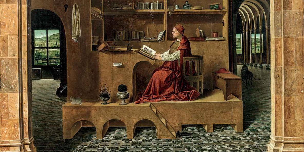 Antonello da Messina San Girolamo nello studio
