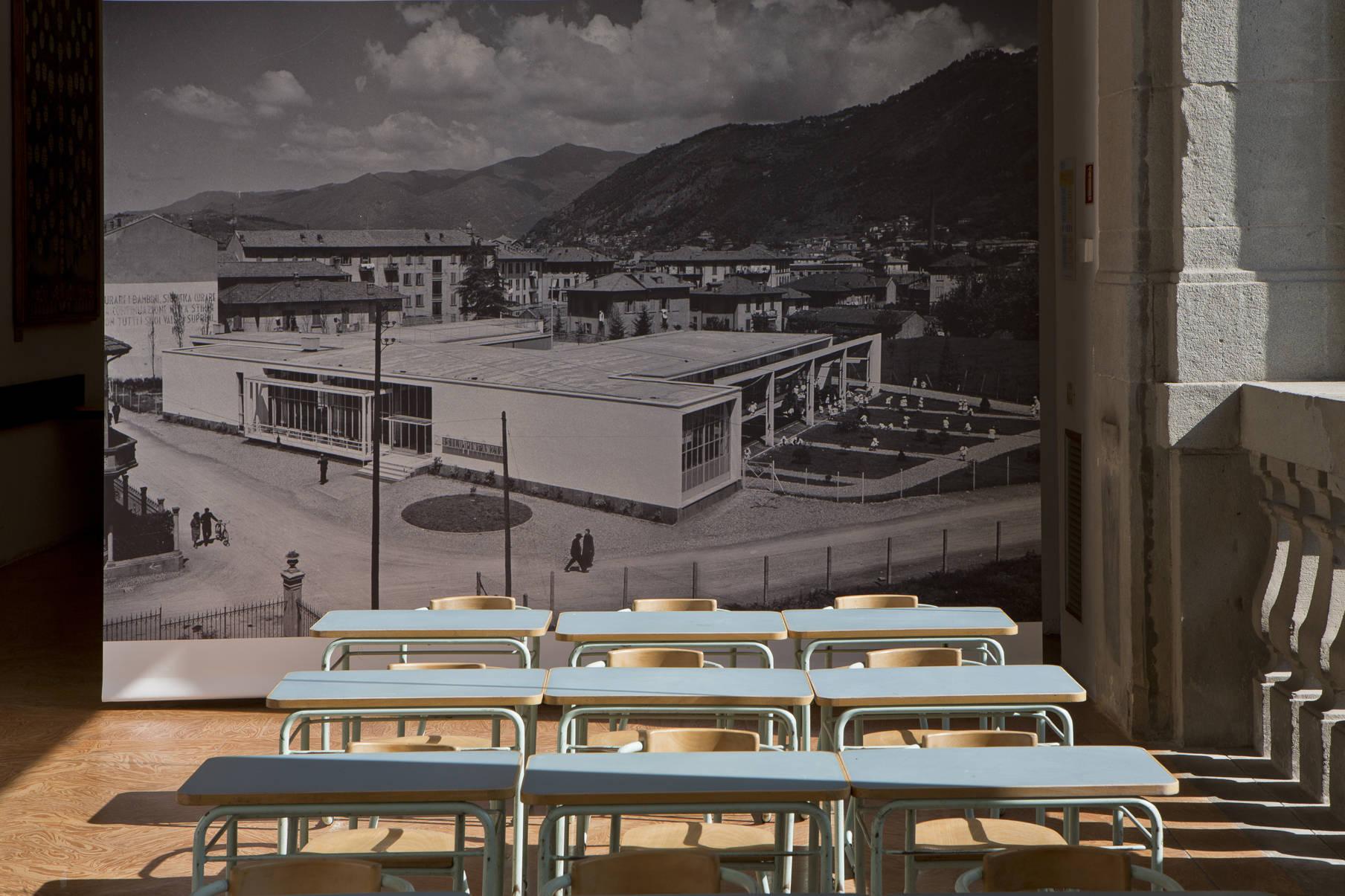 Loggia pinacoteca Como asilo Sant'Elia