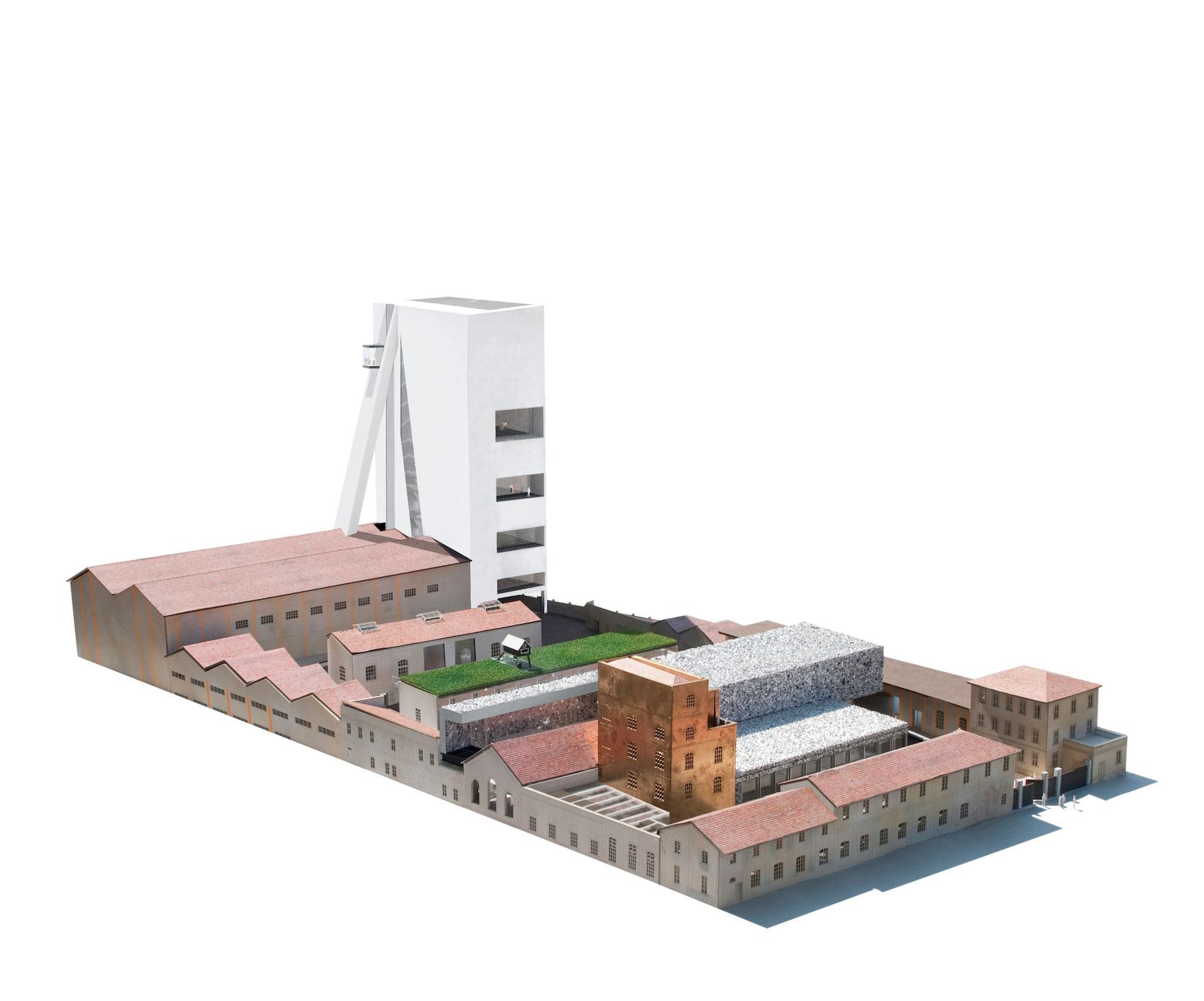 Maquette Fondazione Prada