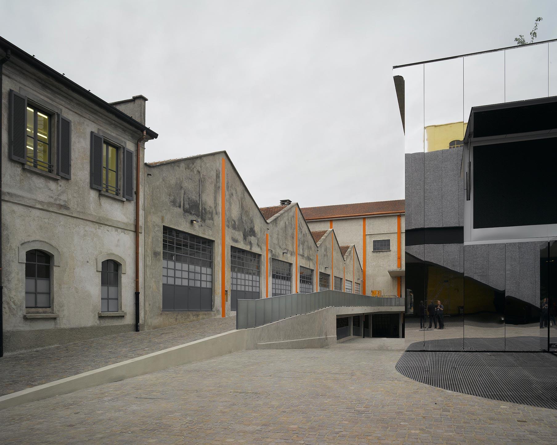 Ala sud Fondazione Prada