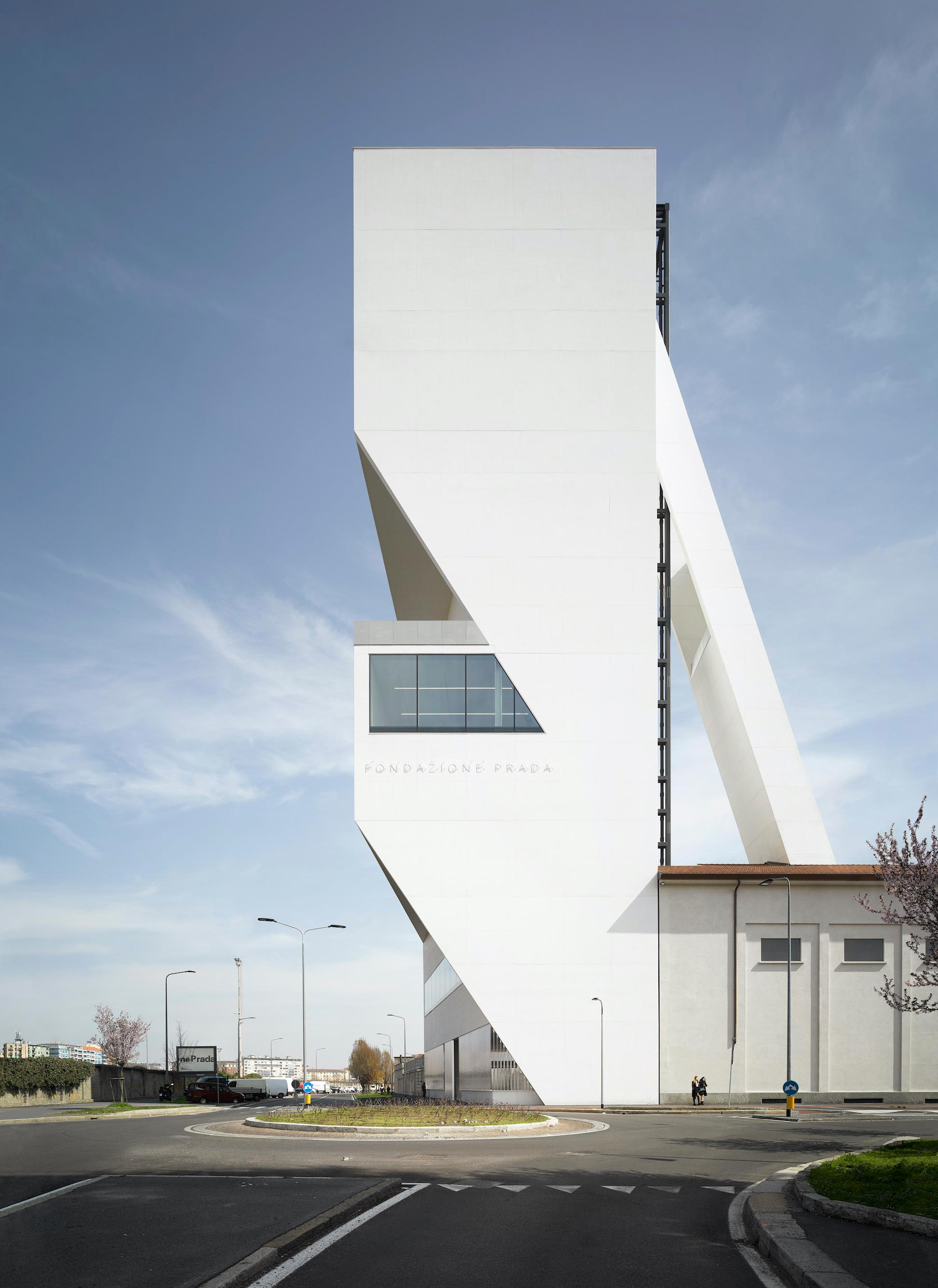 Nord ovest Torre Fondazione Prada