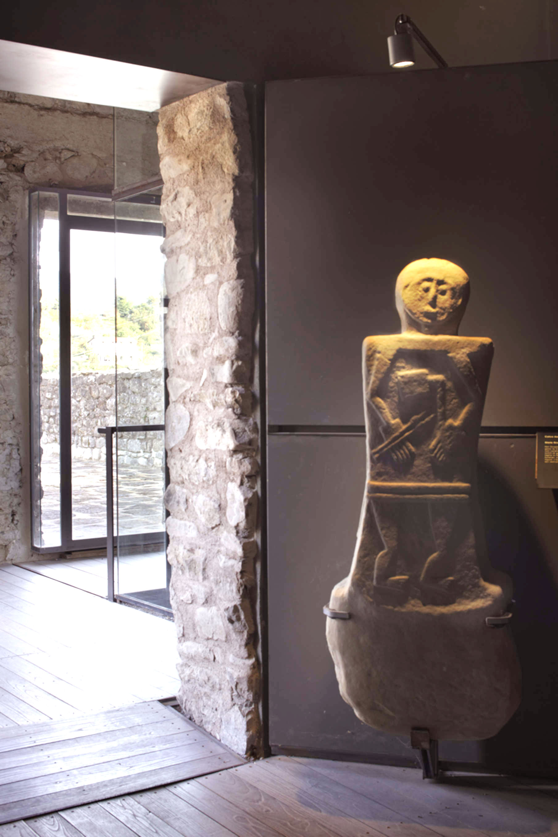 Ambiente museo Statue Stele