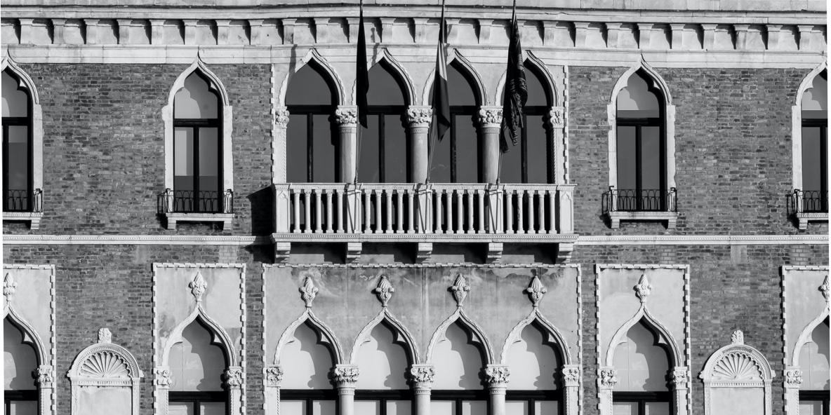 Dettaglio Palazzo Ca' Giustinian Venezia