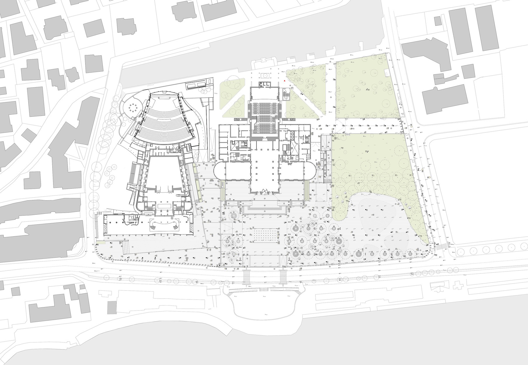 Planimetria Piazza Cinema Venezia
