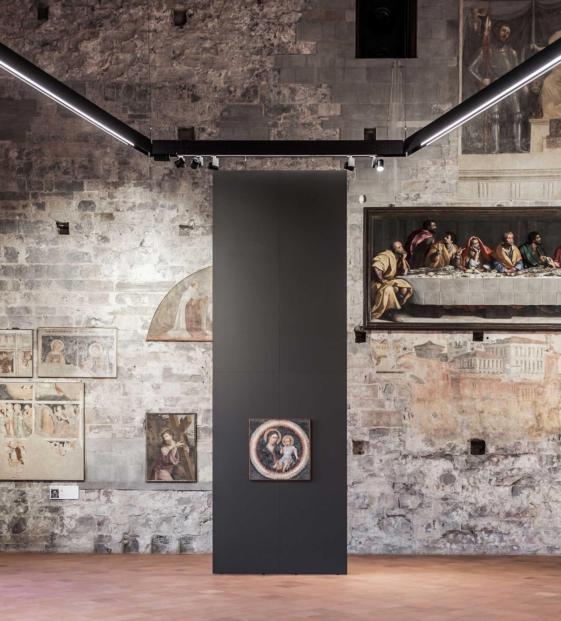 Schermi Sala della Capriate