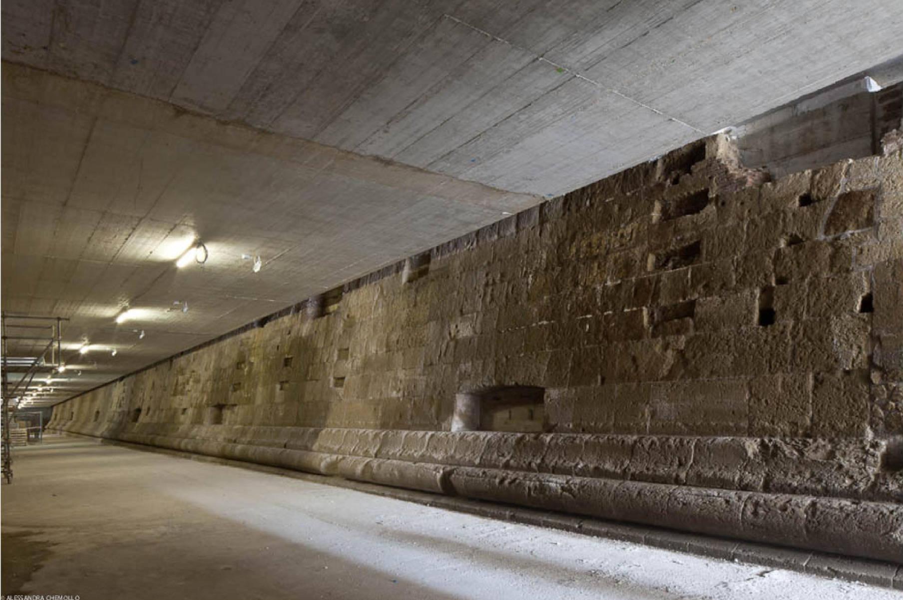 Muri bastionata Stazione Municipio