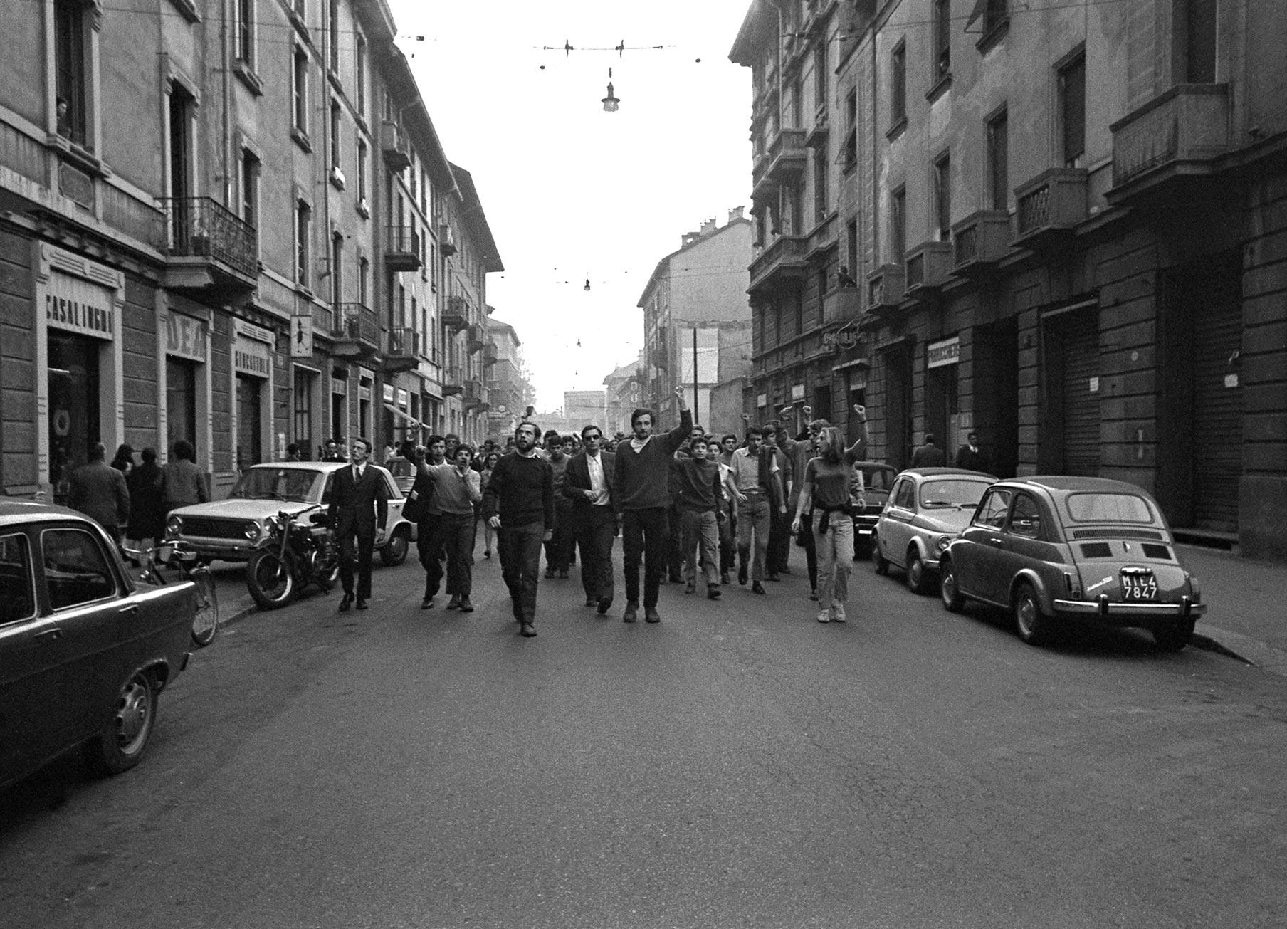 Studenti periferia Milano 1968