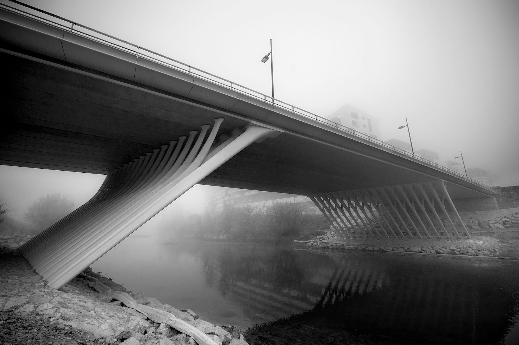 Ponte Repubblica Montpellier Ricciotti