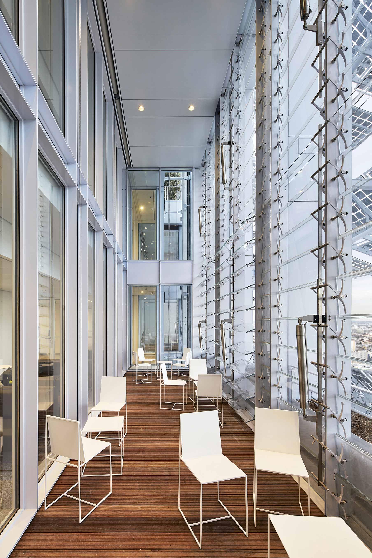 Spazi comuni Tribunale Parigi Renzo Piano
