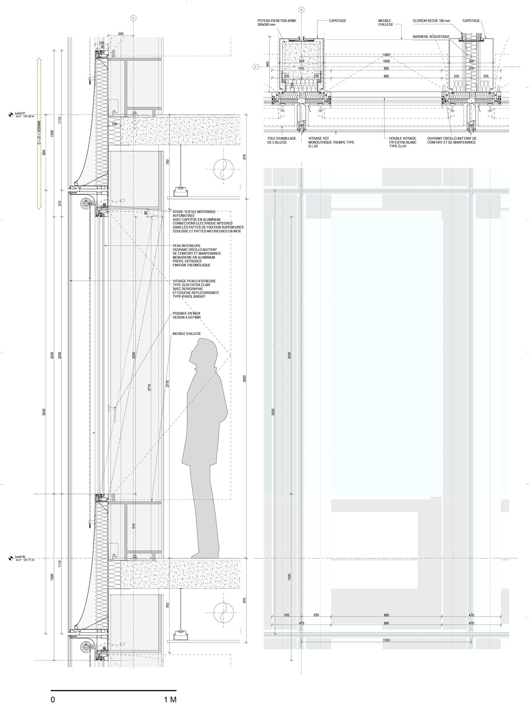 Sezione Tribunale Parigi Renzo Piano