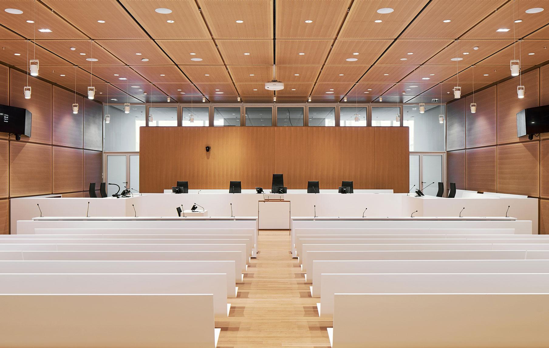 Sala Tribunale Parigi Renzo Piano