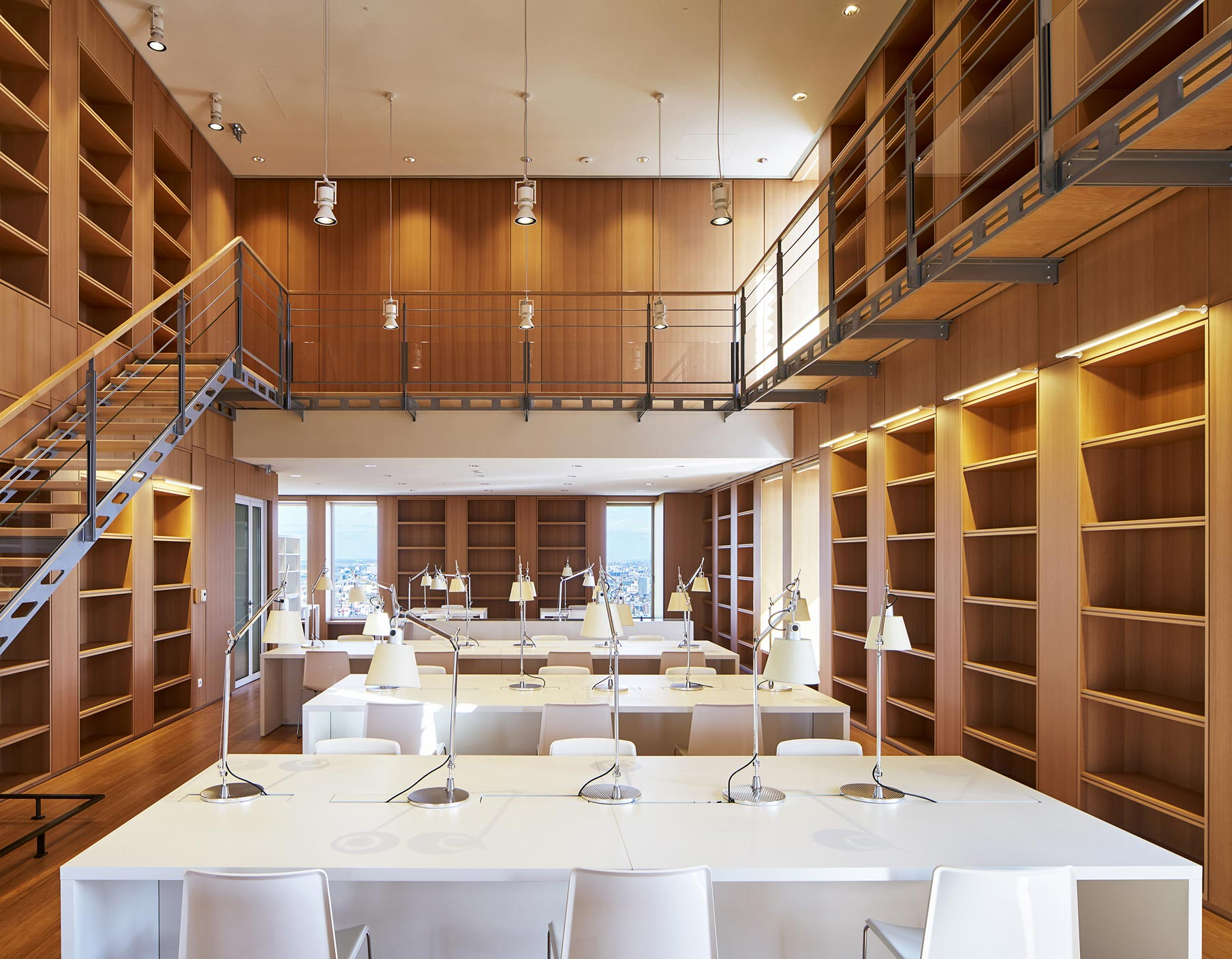 Biblioteca Tribunale Parigi Renzo Piano