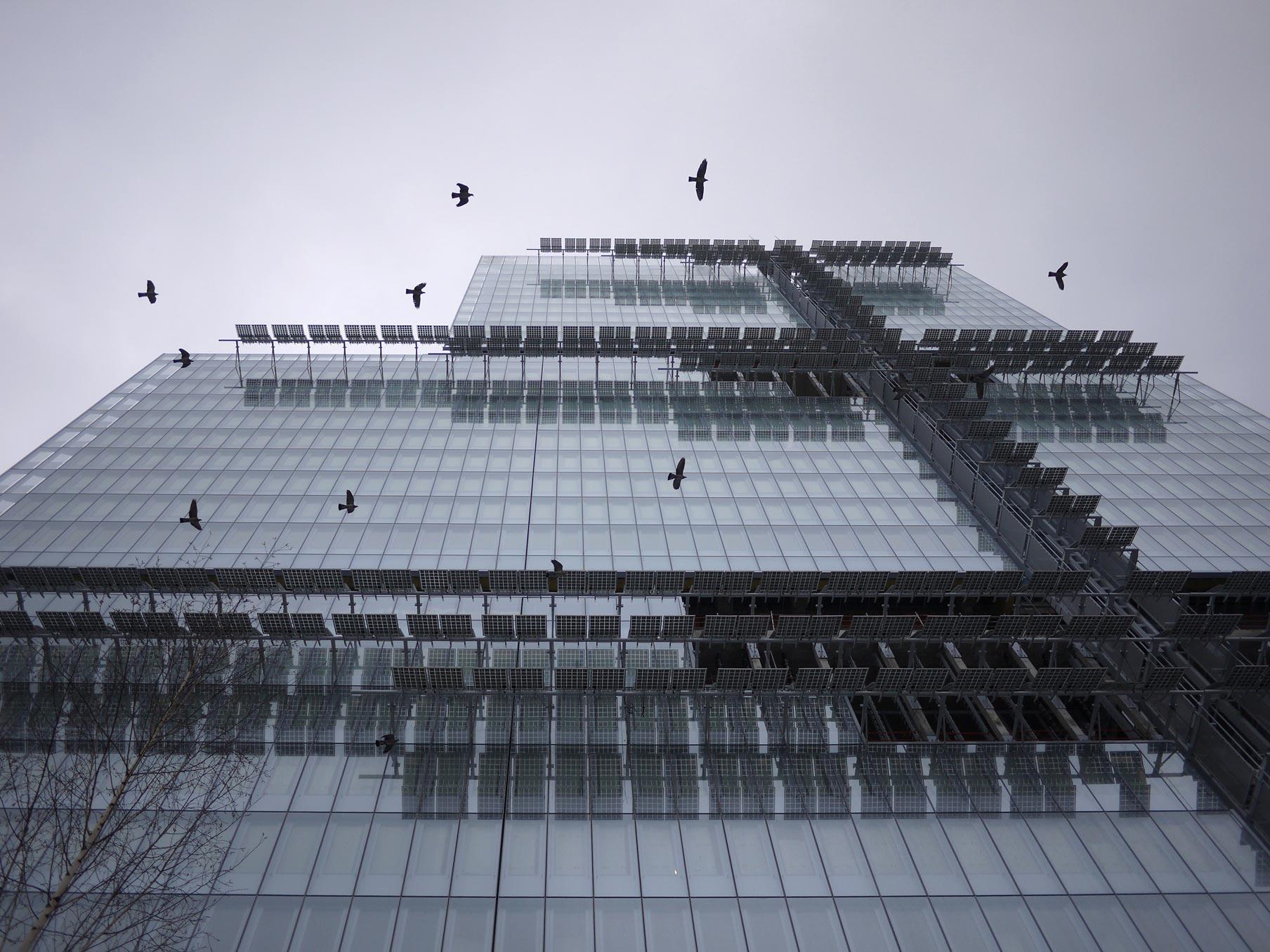 Pannelli fotovoltaici Tribunale Parigi Renzo Piano