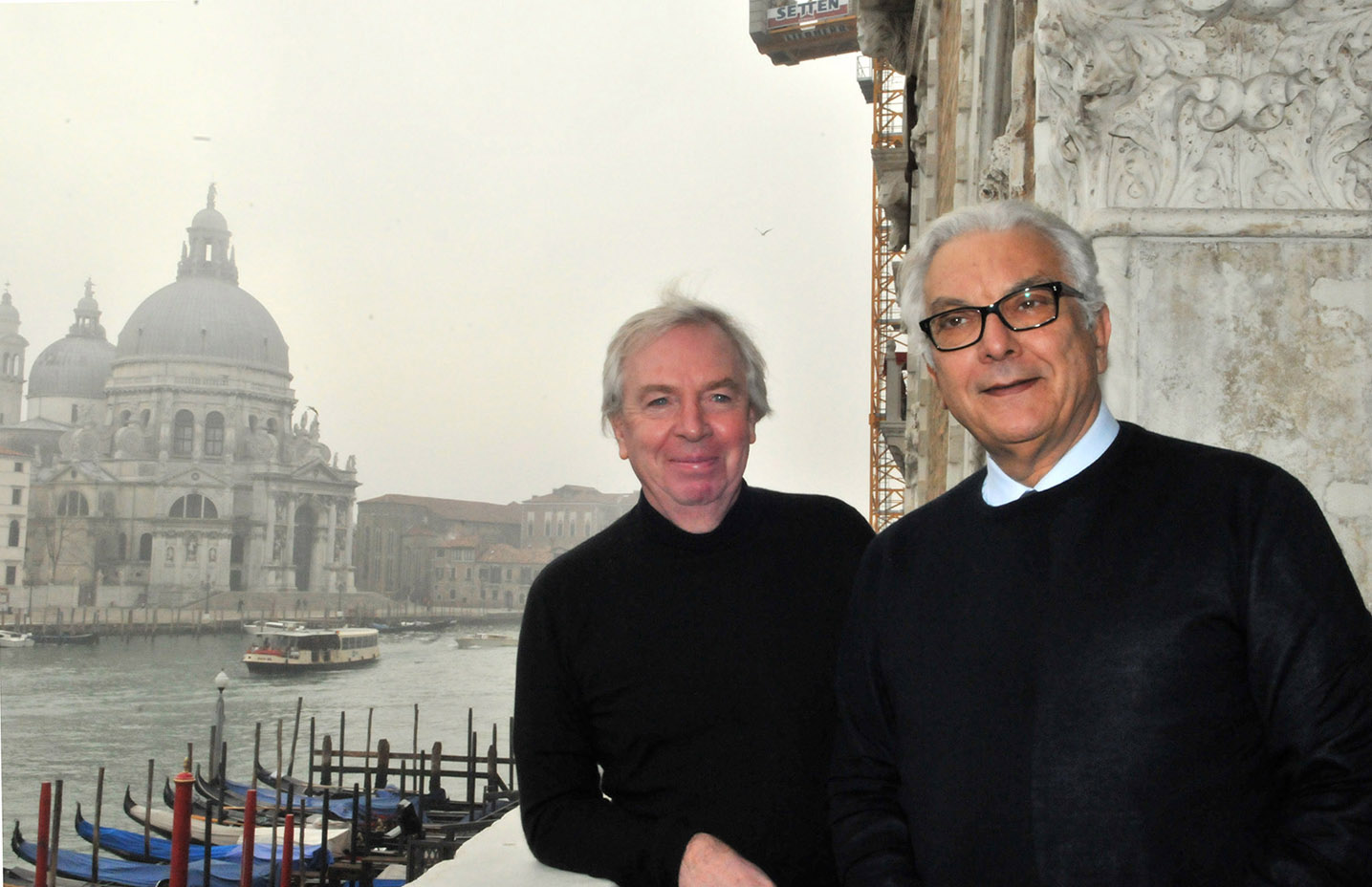 Paolo Baratta e David Chipperfield