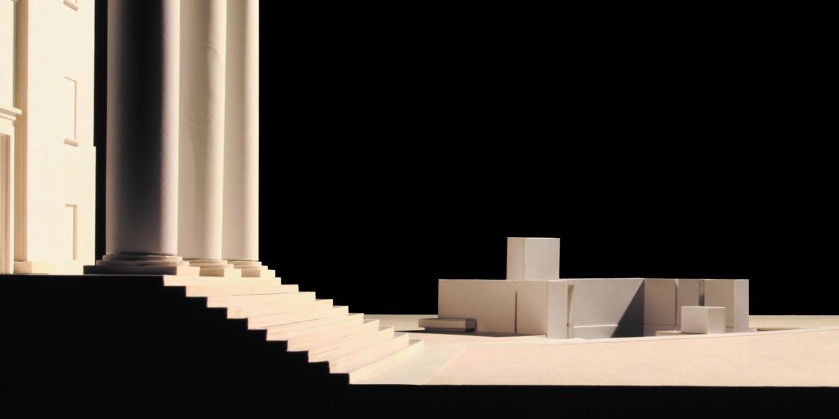 Modello progetto piazza Duomo Treviso