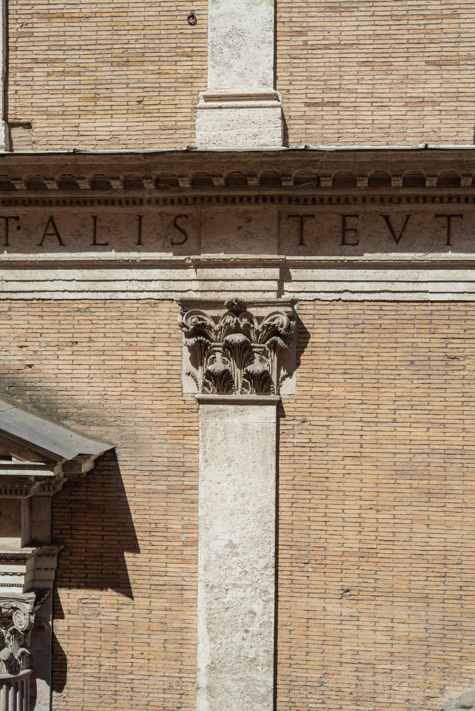 Dettaglio di Santa Maria dell'Anima, Roma