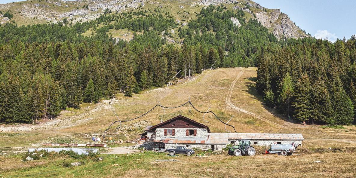 Abitare la montagna, località Torgnon, 2018