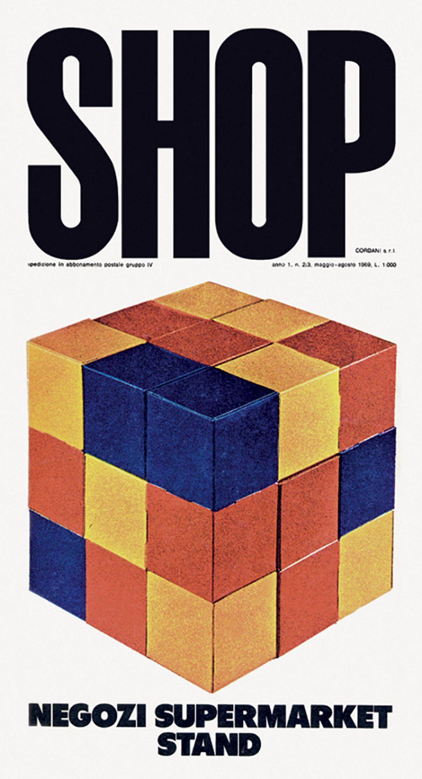 Copertina rivista Shop Italo Lupi