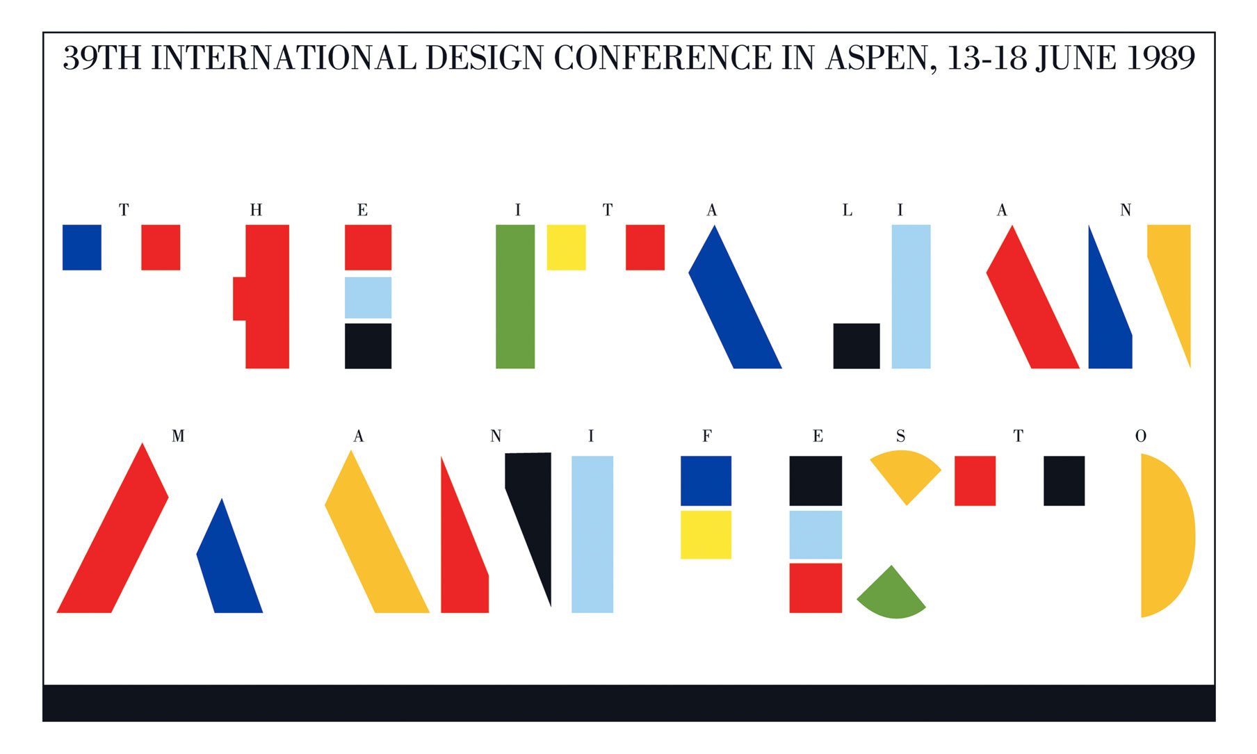 Leaftel International Design Aspen Conference Italo Lupi