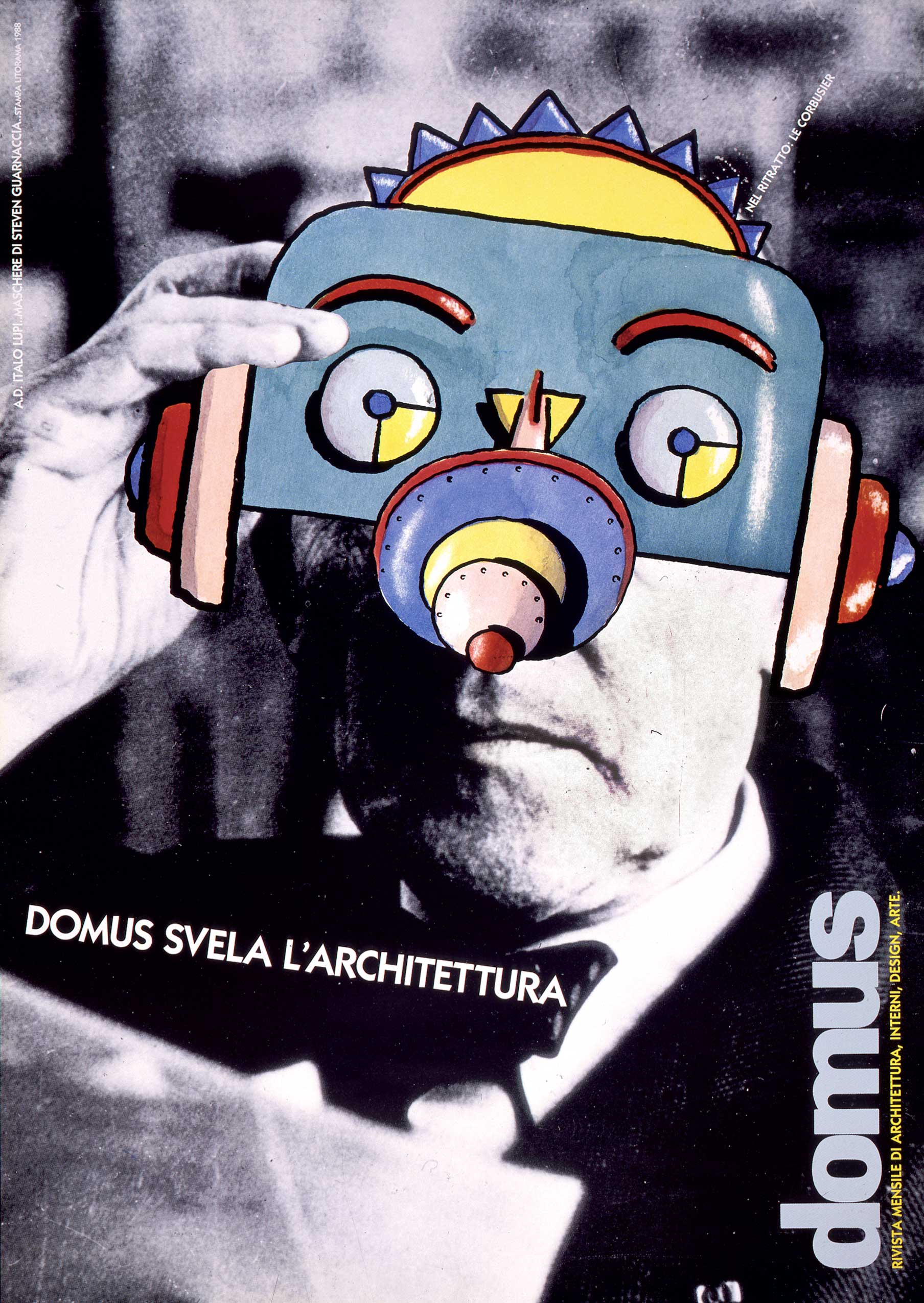 Manifesto Steven Guarnaccia Italo Lupi