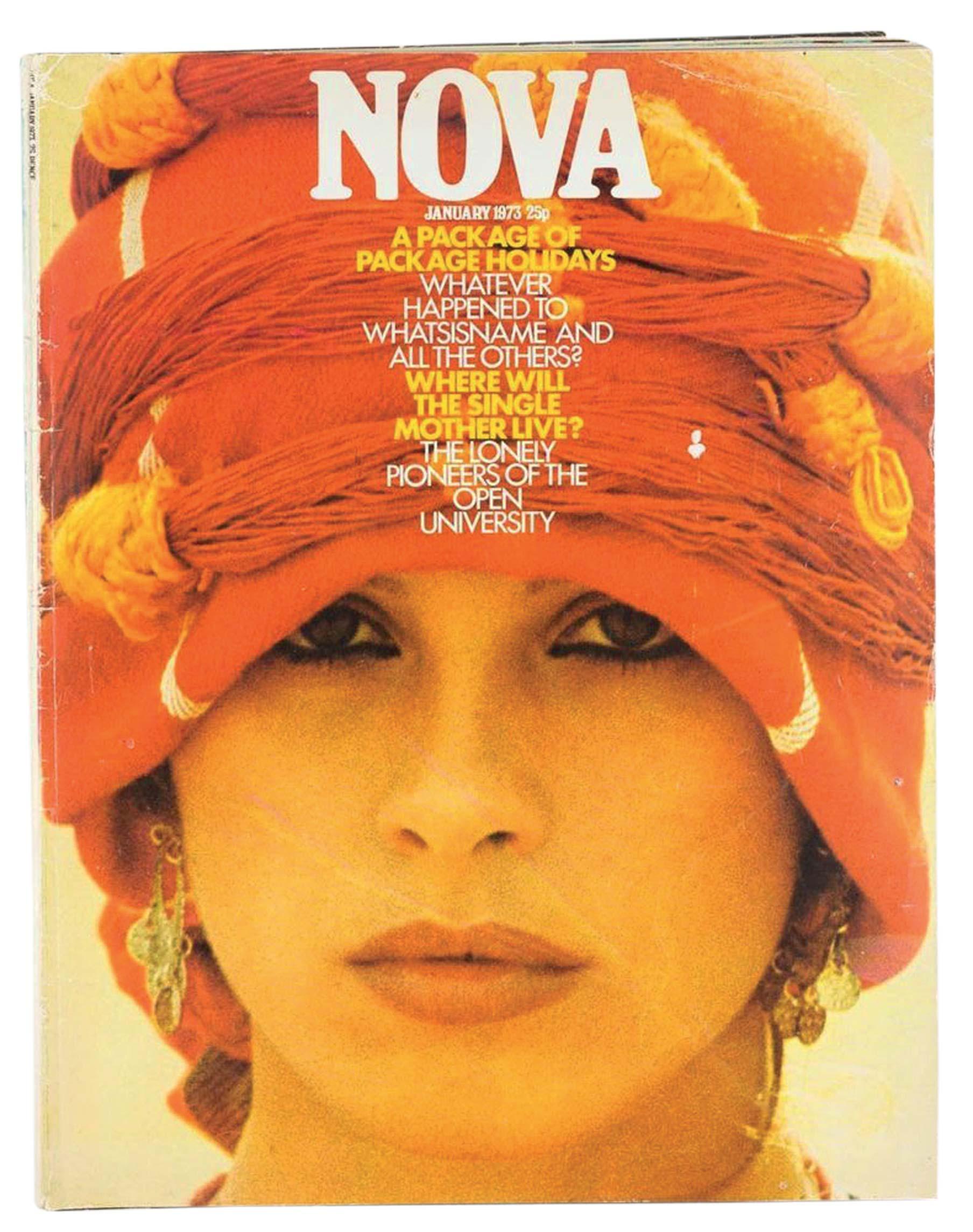 Copertina rivista Nova Italo Lupi