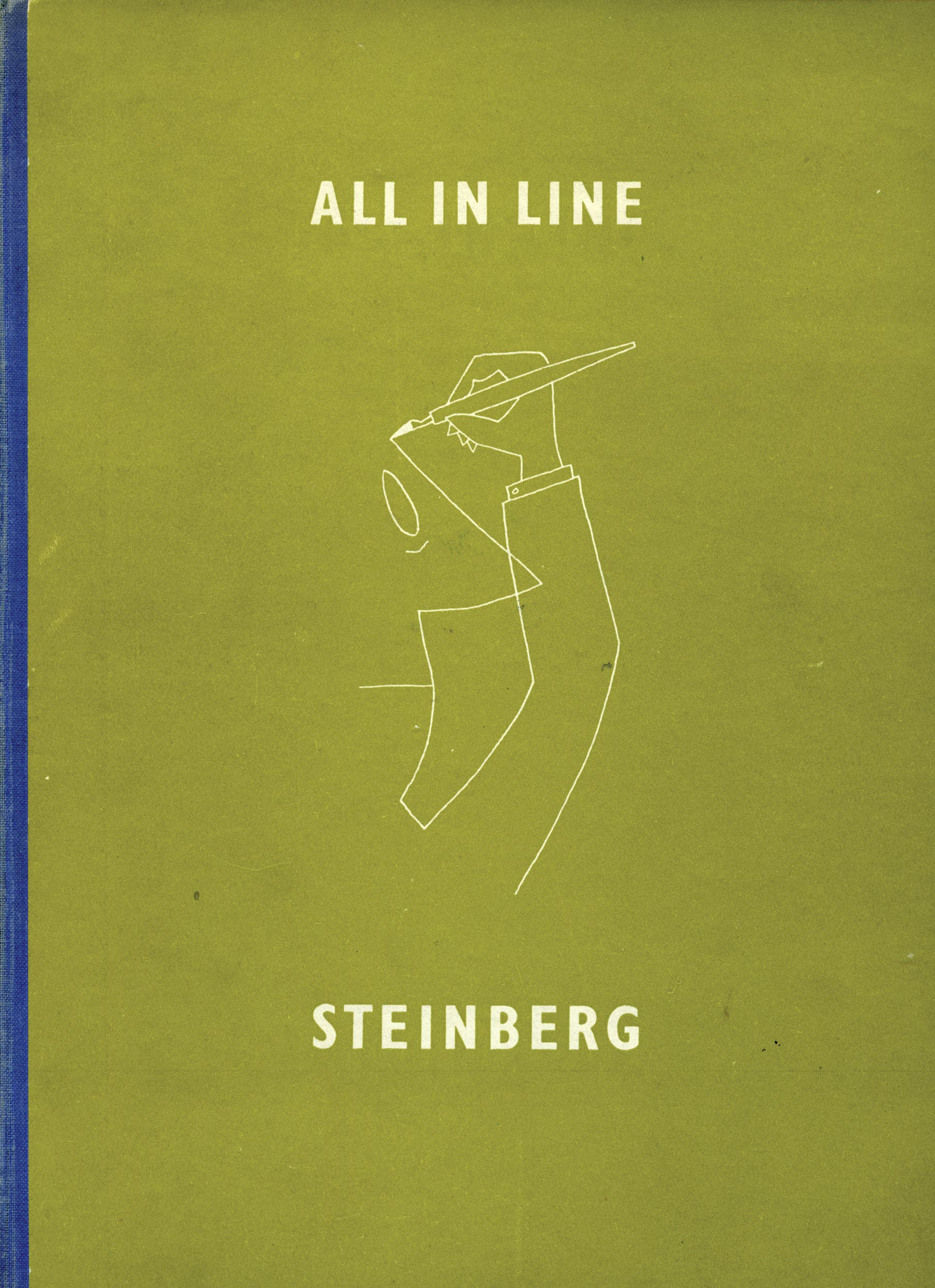 All in Line di Saul Steinberg Italo Lupi