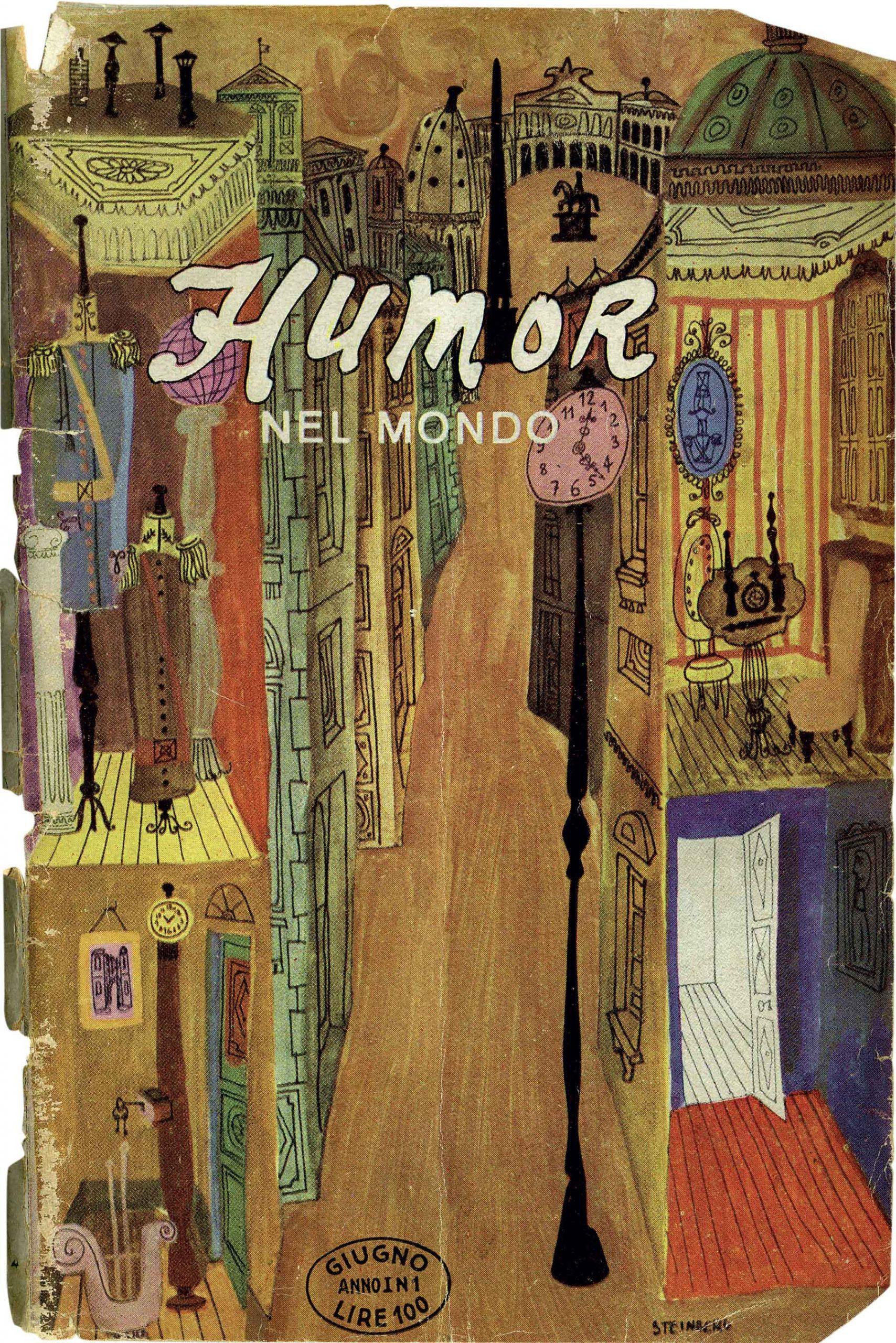 Copertina rivista Humor nel Mondo Italo Lupi
