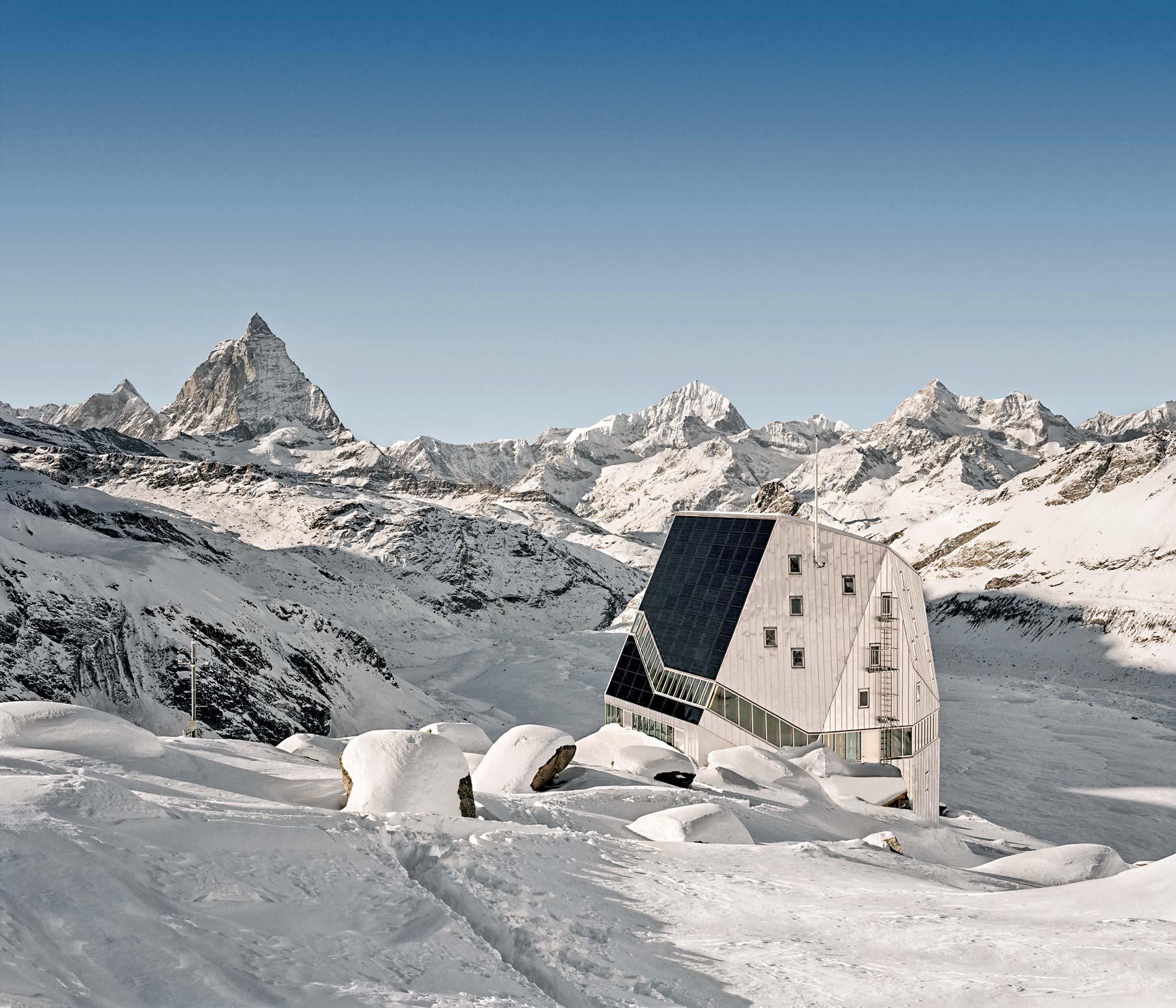 rifugio sul Monte Rosa nella località di Zeimatt, 2009