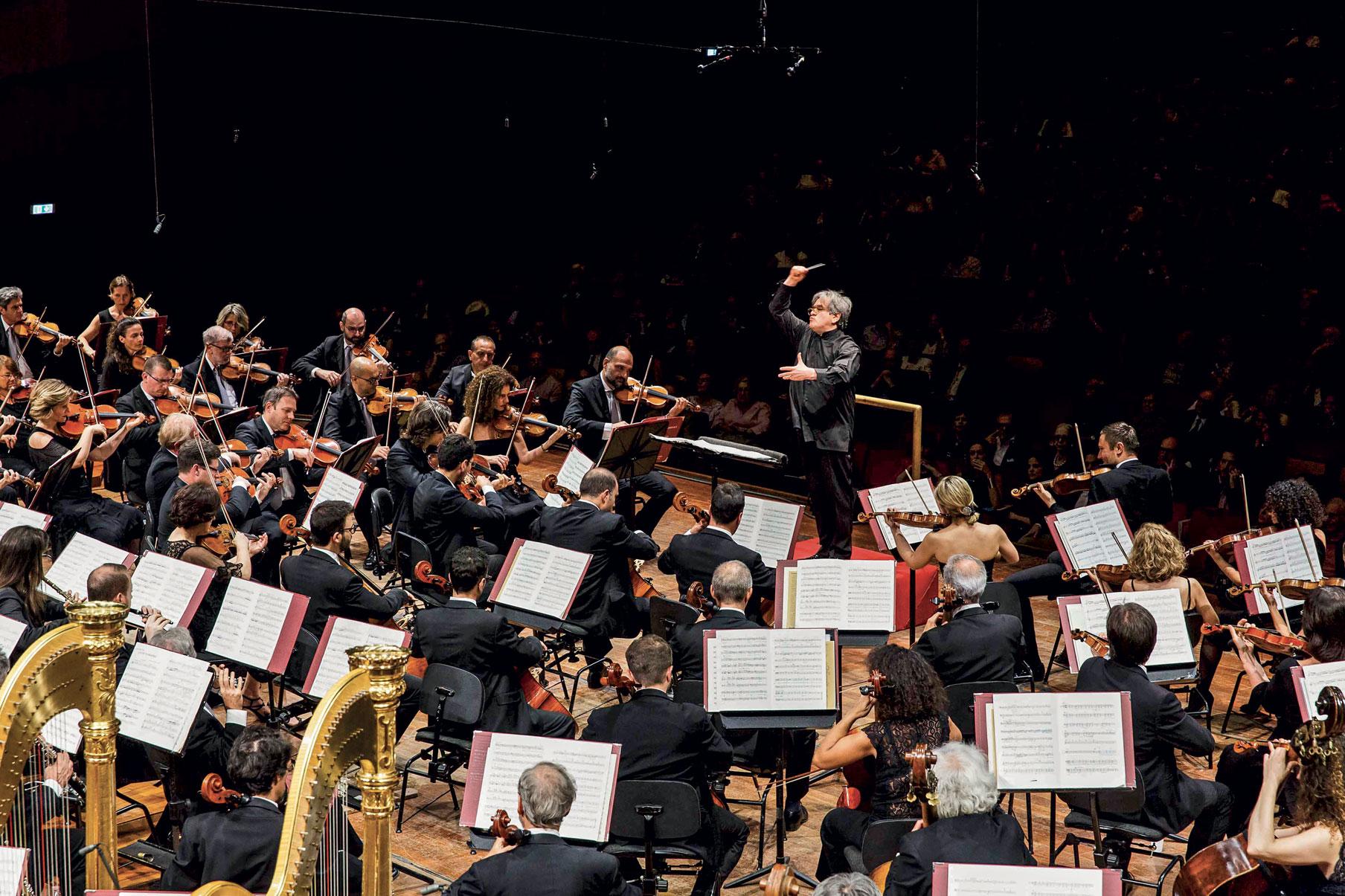 Orchestra diretta da Antonio Pappano