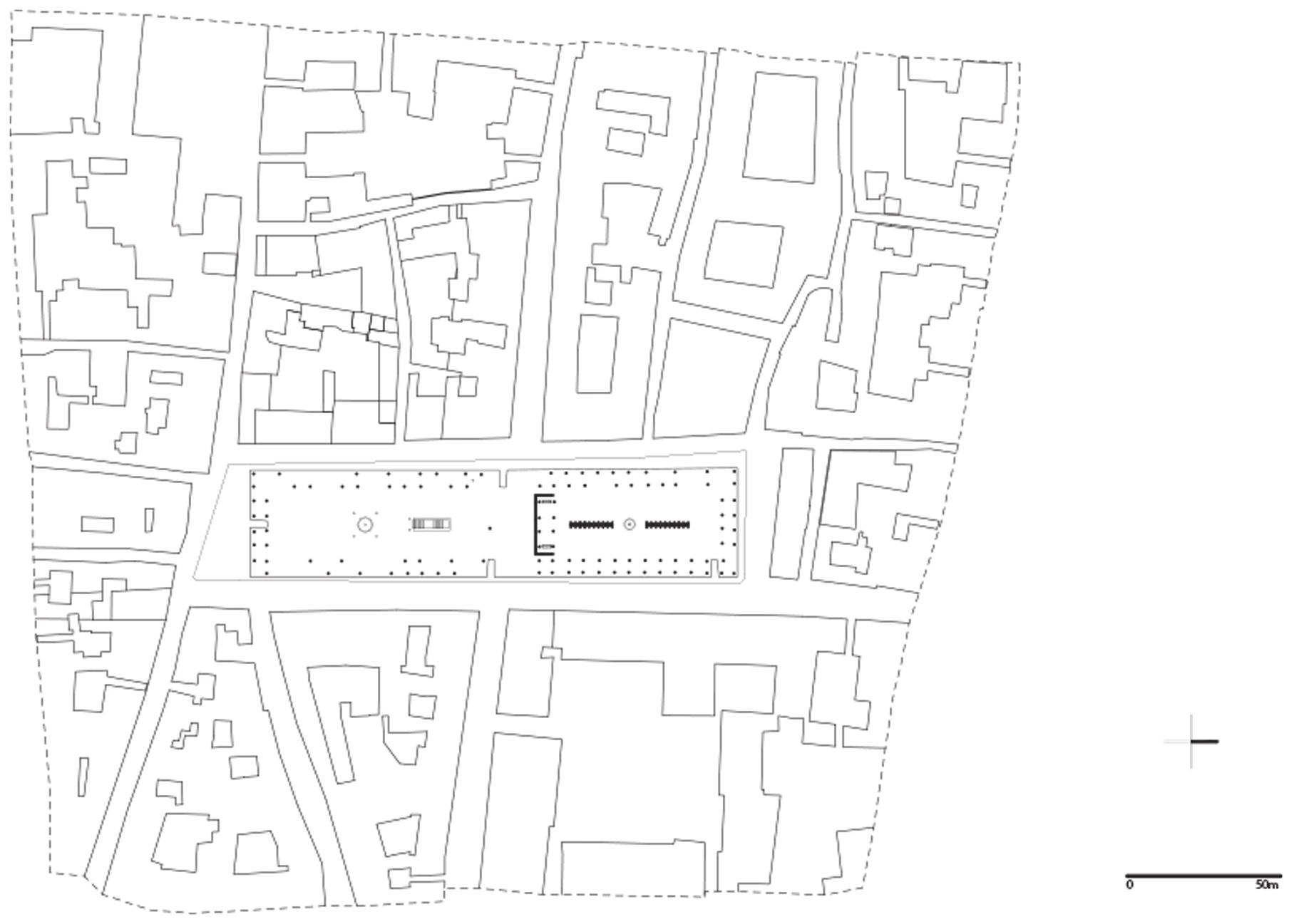Planimetria generale del Museo Temporaneo dell'Illustrazione