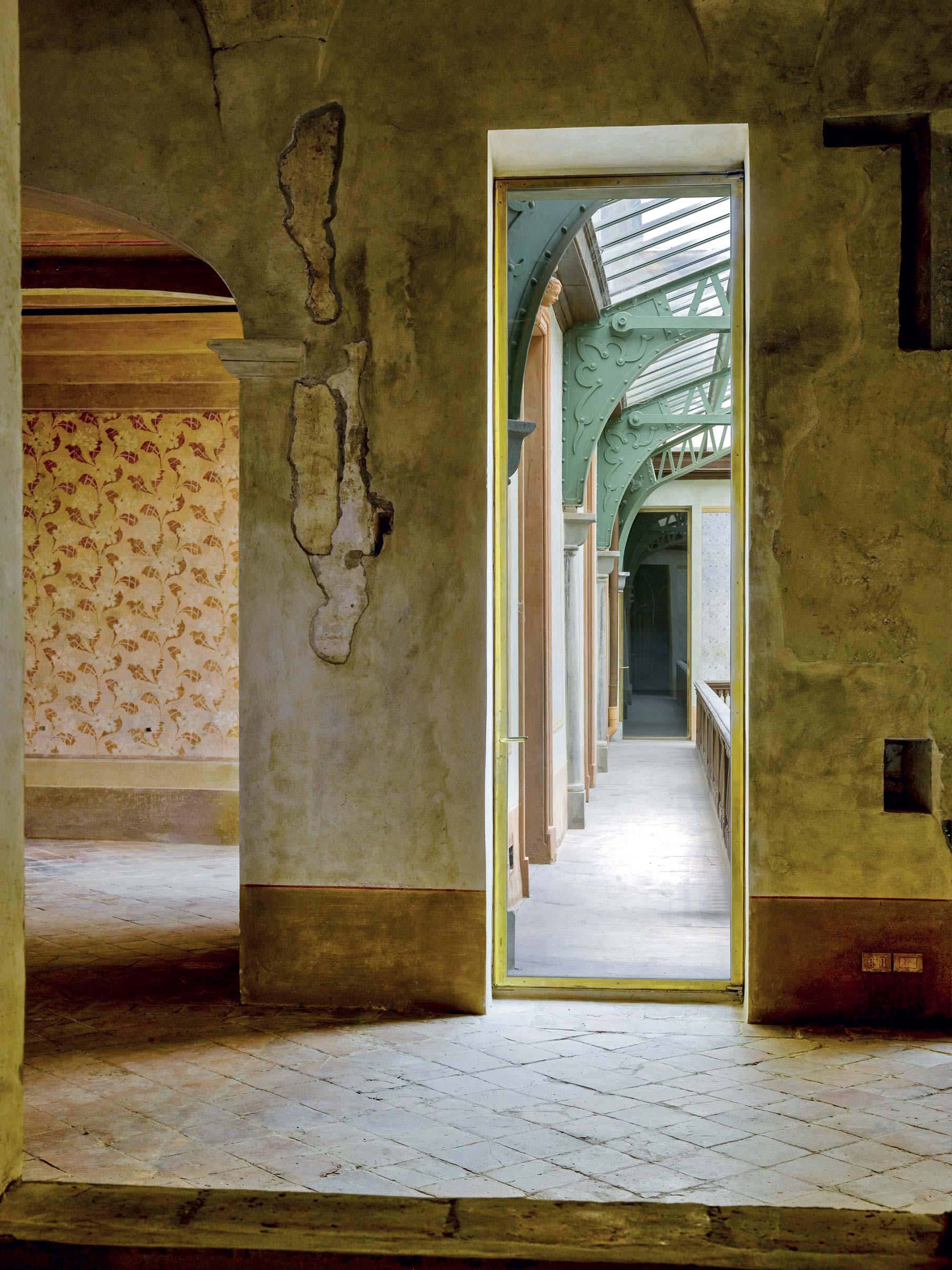 Veduta ballatoio palazzo ducale Guastalla