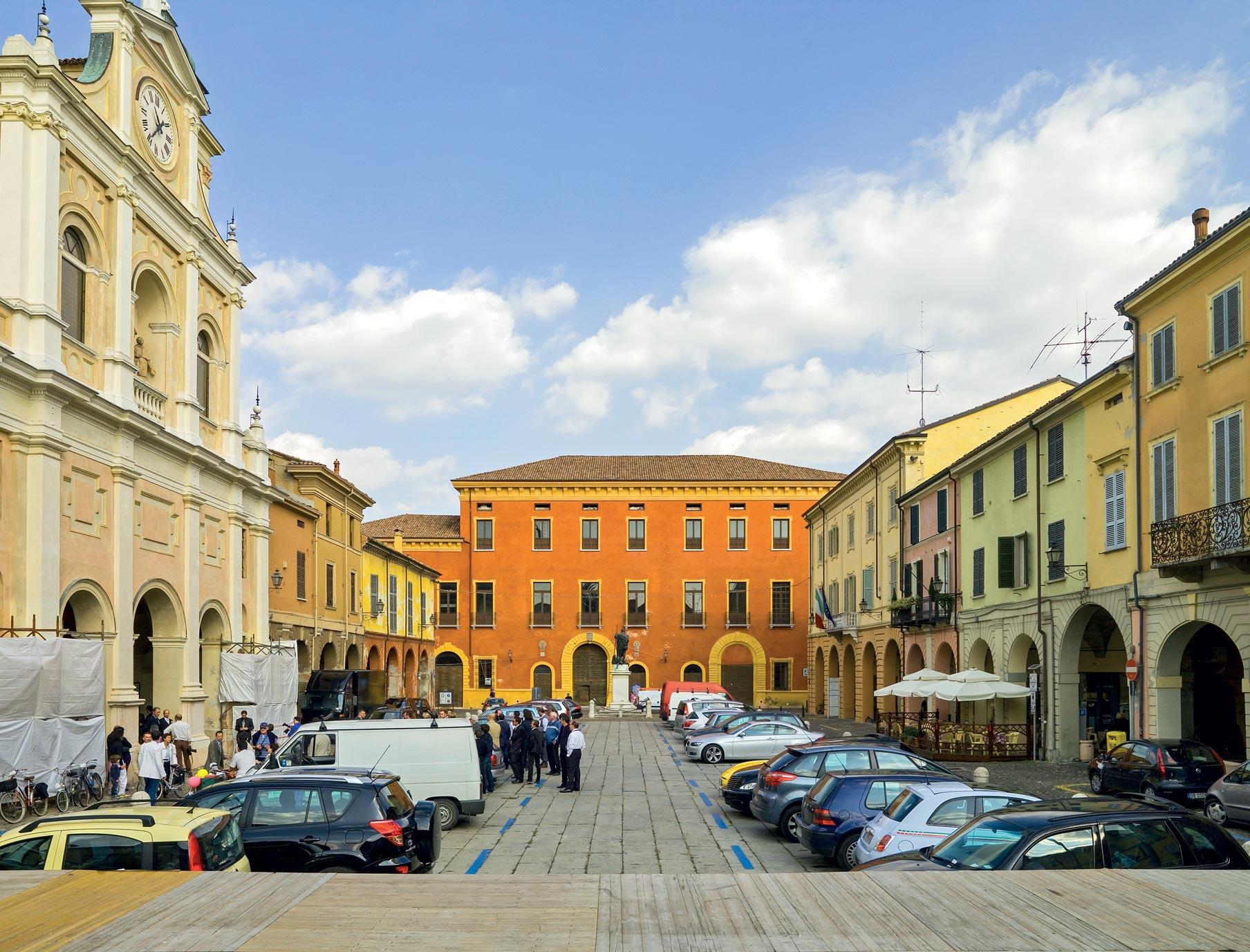Veduta palazzo ducale Guastalla