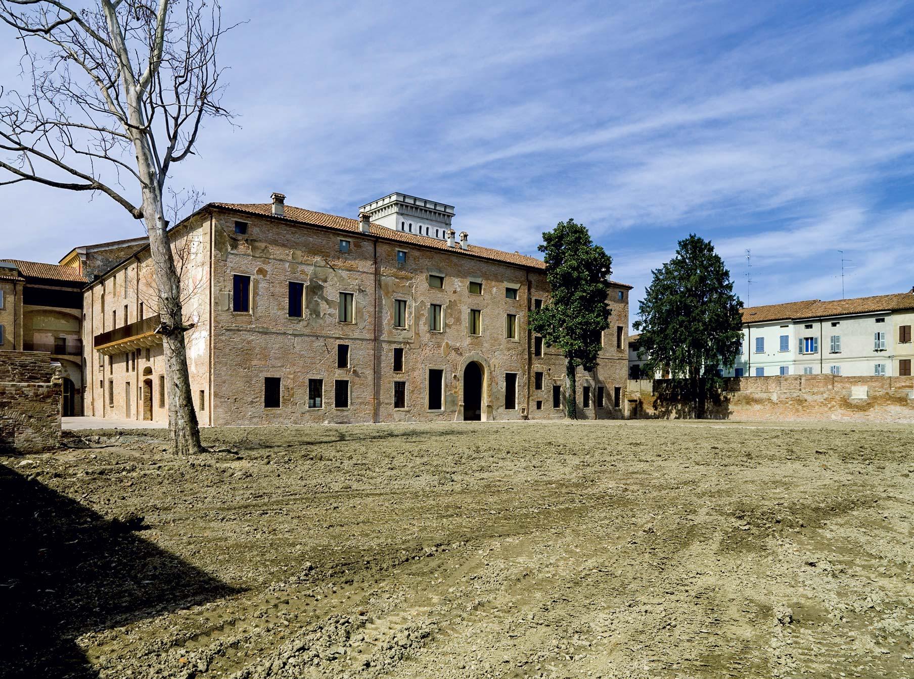 Veduta ripristini palazzo ducale Guastalla
