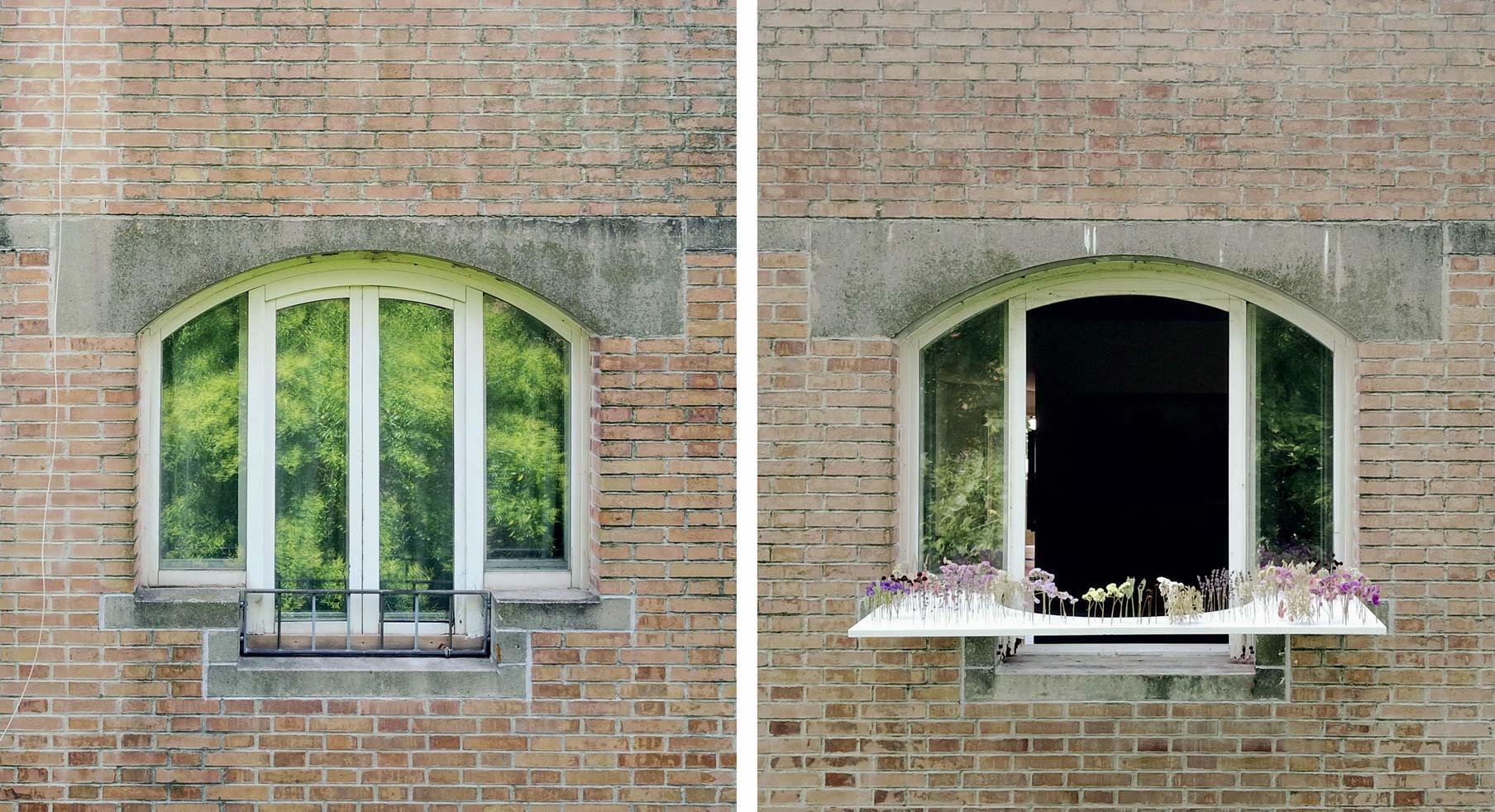 finestre Giudecca Windowsill
